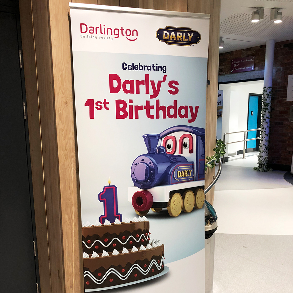 Darly's First Birthday, Full Steam Ahead