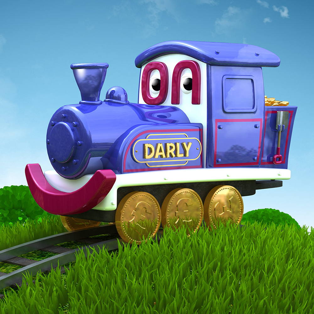 Darly The Train Brand